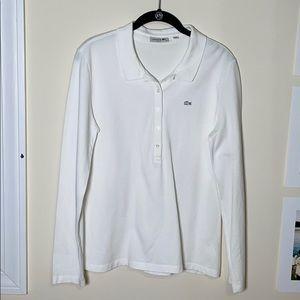 Lacoste Long Sleeved Polo Shirt
